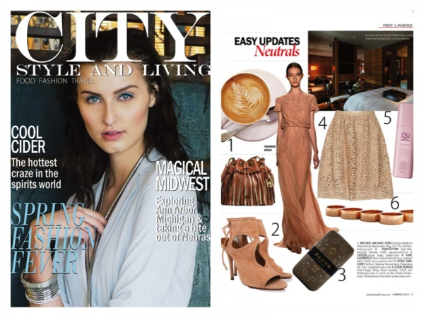 CALGARY - CITY STYLE AND LIVING MAGAZINE - APRIL 2015