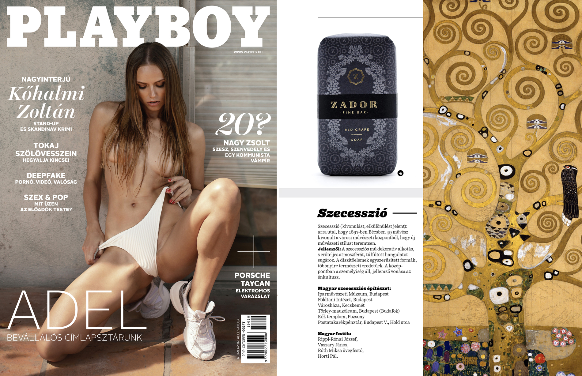 Zador In Playboy Magazine Zador